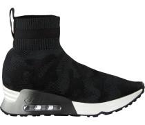 Schwarze Ash Sneaker Lulu Camo