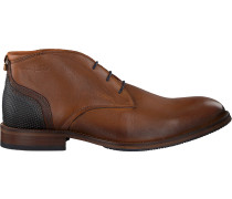 Cognacfarbene Van Lier Business Schuhe 1859203
