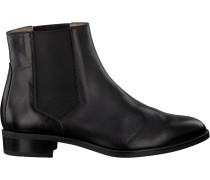 Schwarze Unisa Chelsea Boots Belki