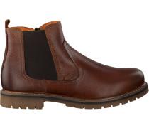 Cognacfarbene Omoda Chelsea Boots 530060