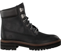 Schwarze Schnürboots London Square 6IN Boot