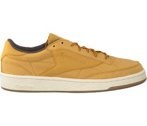 Camelfarbene Reebok Sneaker Club C 85 MEN