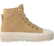 Beige Michael Kors Sneaker High Keegan High Top