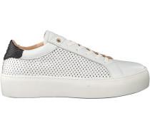Weiße Fred De La Bretoniere Sneaker 101010056