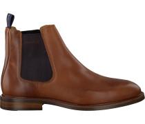 Cognacfarbene Gant Chelsea Boots Ricardo Chelsea