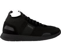 Blaue Boss Sneaker Low Titanium Runn Knst