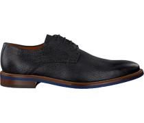 Blaue Van Lier Business Schuhe 5460