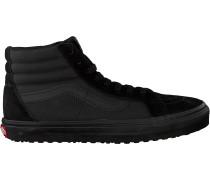 Schwarze Vans Sneaker Ua Sk8-hi Reissue Uc