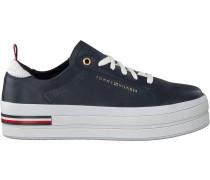 Tommy Hilfiger Sneaker Low Modern Flatform Blau Damen