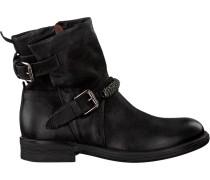 Schwarze Mjus Biker Boots 971241 Sole PAL