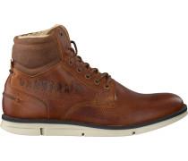 Cognacfarbene Gaastra Ankle Boots Iberian High TMB