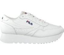 white Fila shoe Orbit Zeppa L WMN