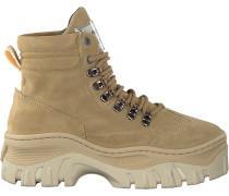 Beige Bronx Sneaker Jaxstar