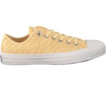 Gelbe Converse Sneaker Chuck Taylor OX