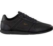 Schwarze Lacoste Sneaker Menerva