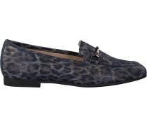 Blaue Gabor Loafer 210