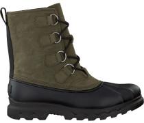 Grüne Ankle Boots Portzman Classic Waterproof