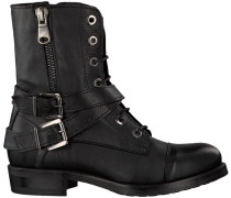 Schwarze Omoda Biker Boots K321