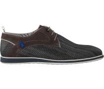 Graue Floris Van Bommel Business Schuhe 18201