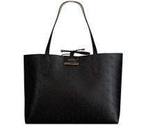 Schwarze Guess Shopper Hwem64 22150