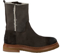 Braune Shabbies Ankle Boots 181020034