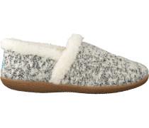 Weiße Toms Hausschuhe Slipper