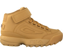Beige Fila Sneaker Disruptor Clay MID