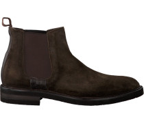 Braune Greve Chelsea Boots Cabernet II