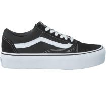 Schwarze Vans Sneaker Old Skool Platform