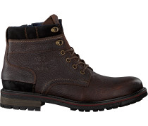 Braune Nza New Zealand Auckland Schnürboots Foxton High
