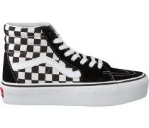 Schwarze Vans Sneaker Sk8 Hi Platform 2.0
