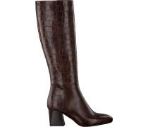 Braune Notre-V Hohe Stiefel 2293\092