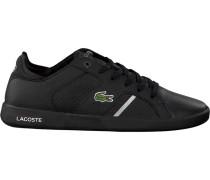 Schwarze Lacoste Sneaker Novas CT 118