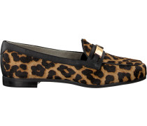 Braune Michael Kors Loafer Paloma Loafer