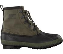 Grüne Sorel Ankle Boots Cheyanne CVS