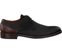 Schwarze Van Lier Business Schuhe 1915314
