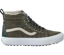 Grüne Vans Sneaker Sk8 Hi Mte