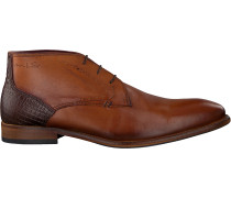 Cognacfarbene Van Lier Business Schuhe 1919104