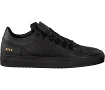 Schwarze Nubikk Sneaker Jhay Python II