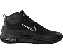 Schwarze Nike Sneaker Low Air Max Axis Men