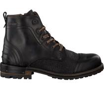 Schwarze Yellow Cab Ankle Boots Y15446