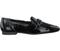 Schwarze Paul Green Loafer 1072