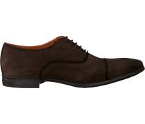 Braune Van Lier Business Schuhe 6052