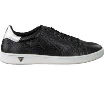 Schwarze Guess Sneaker Flspe1 Ele12