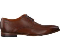 Cognacfarbene Van Lier Business Schuhe 1918900