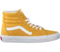 Gelbe Vans Sneaker Ua Sk8-hi Women