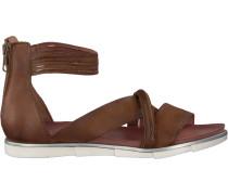 Cognacfarbene Omoda Sandalen 740020