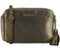 Goldfarbene Umhängetasche MD Camera BAG