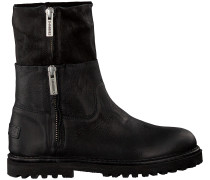 Schwarze Shabbies Ankle Boots 191020017