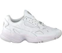 Weiße Adidas Sneaker Falcon W